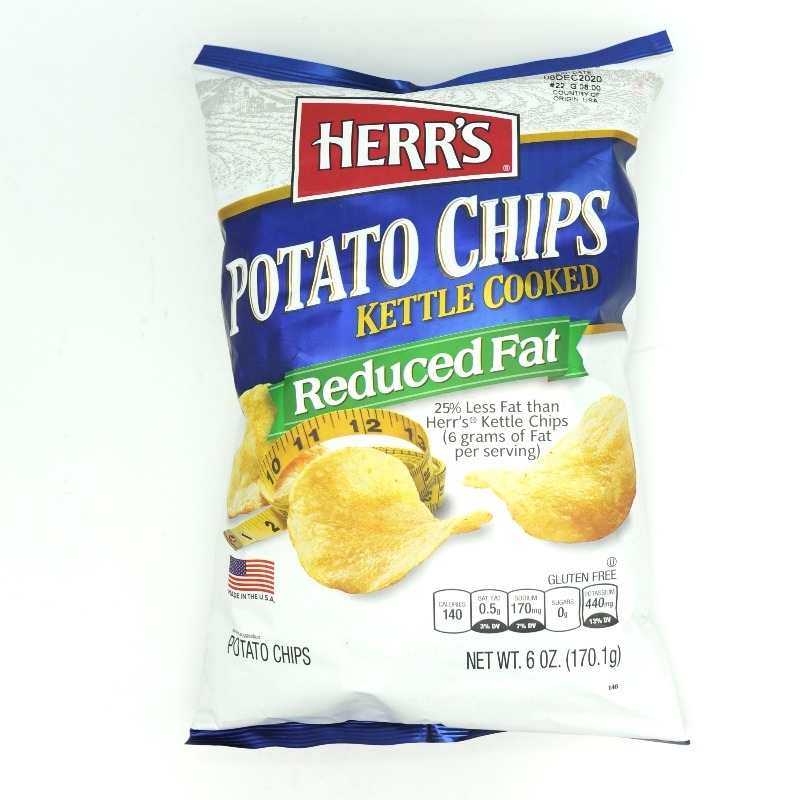 HERR'S- REDUCED FAT POTATO CHIPS