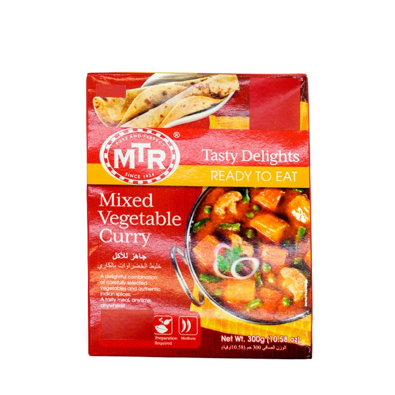 MTR-MIXED VEGETABLE CURRY