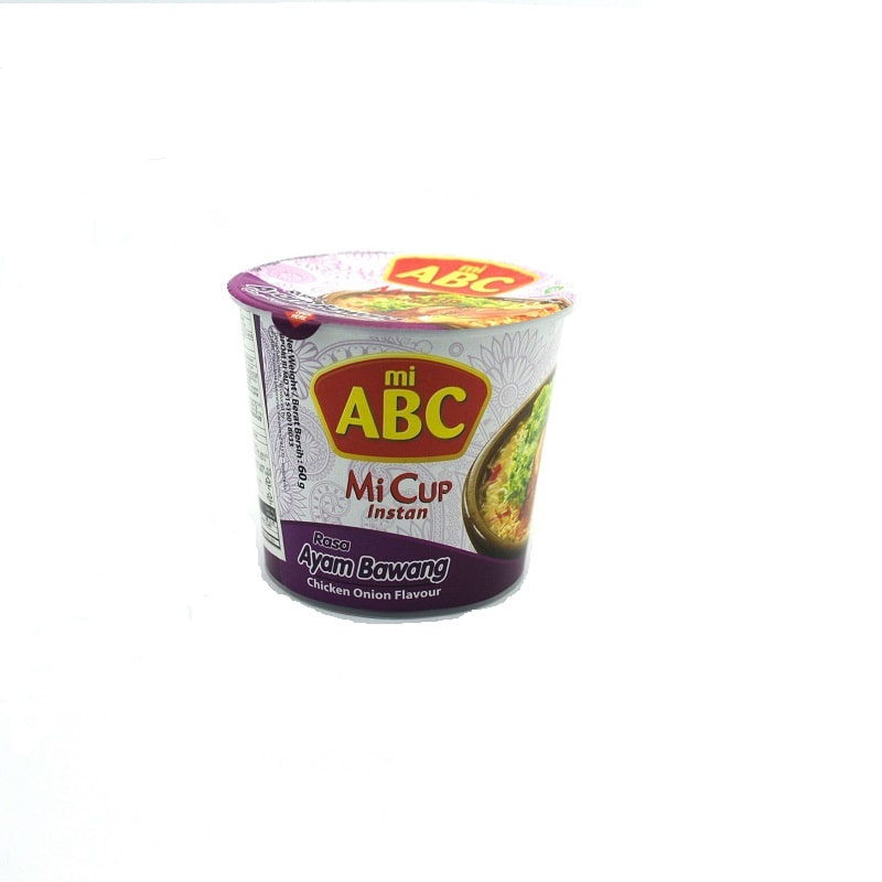 ABC-CHICKEN ONION FLAVOR CUP NOODLES(HALAL)