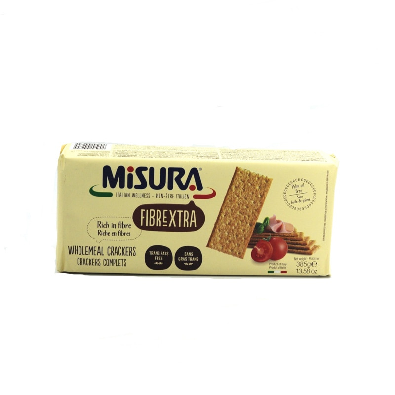 MISURA-FIBRE EXTRA WHOLEMEAL CRACKERS