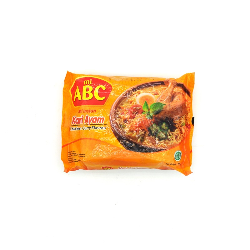 ABC-CHICKEN CURRY FLAVOR NOODLES (HALAL)