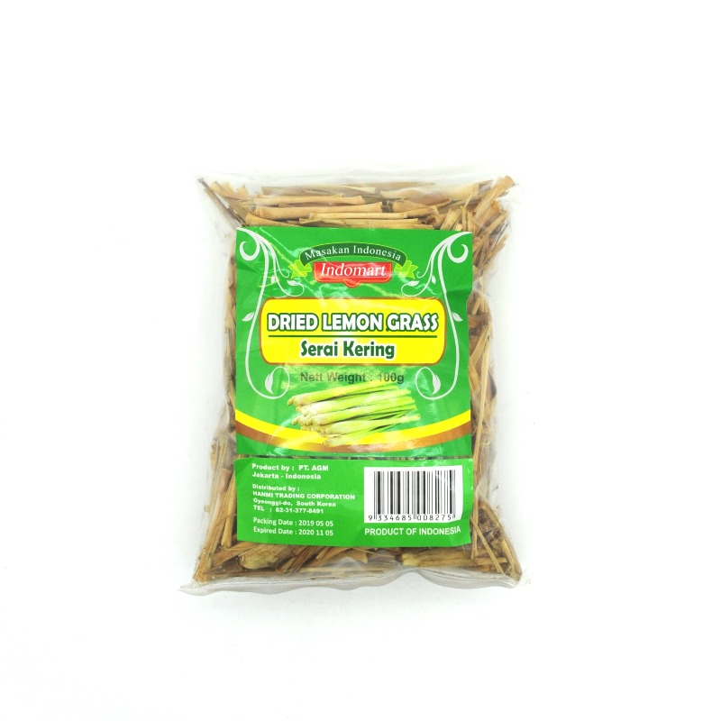 INDOMART-DRIED LEMONGRASS