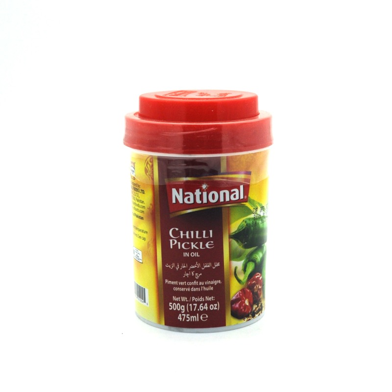 NATIONAL-CHILLI PICKLE IN OIL