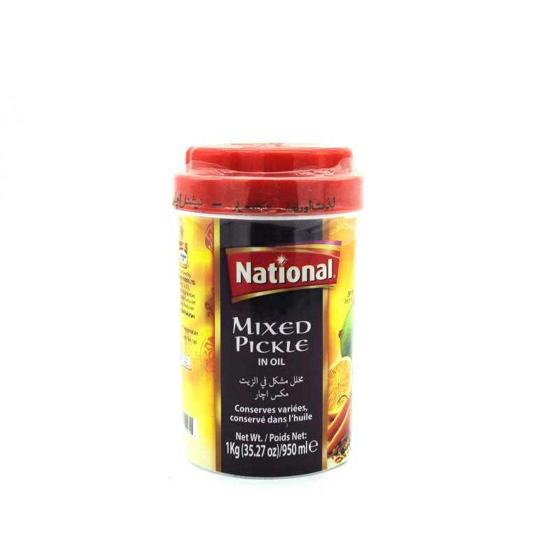 NATIONAL-MIXED PICKLE IN OIL