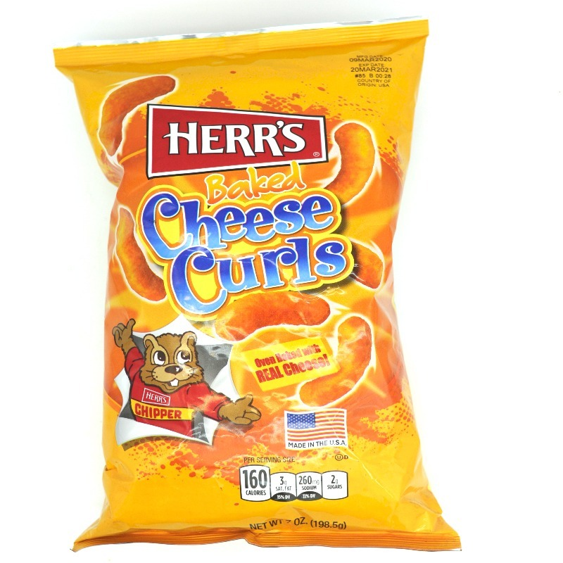 HERR'S-BAKED CHEESE CURLS