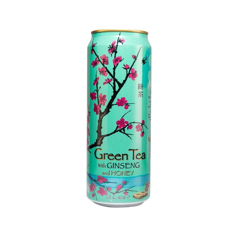 ARIZONA-GREEN TEA WITH GINSENG & HONEY