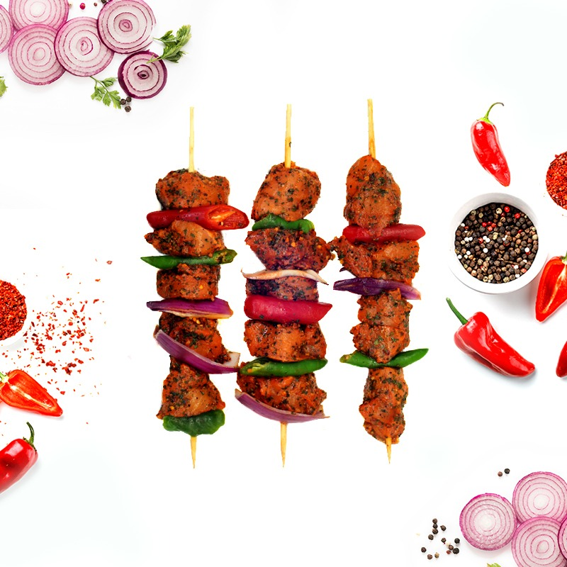 MARINATED CHICKEN SHASHLIK (SHEESH KEBAB)