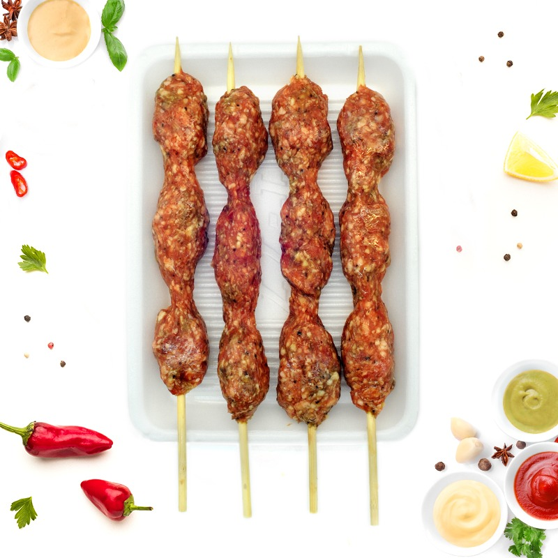 MARINATED BEEF KEBAB