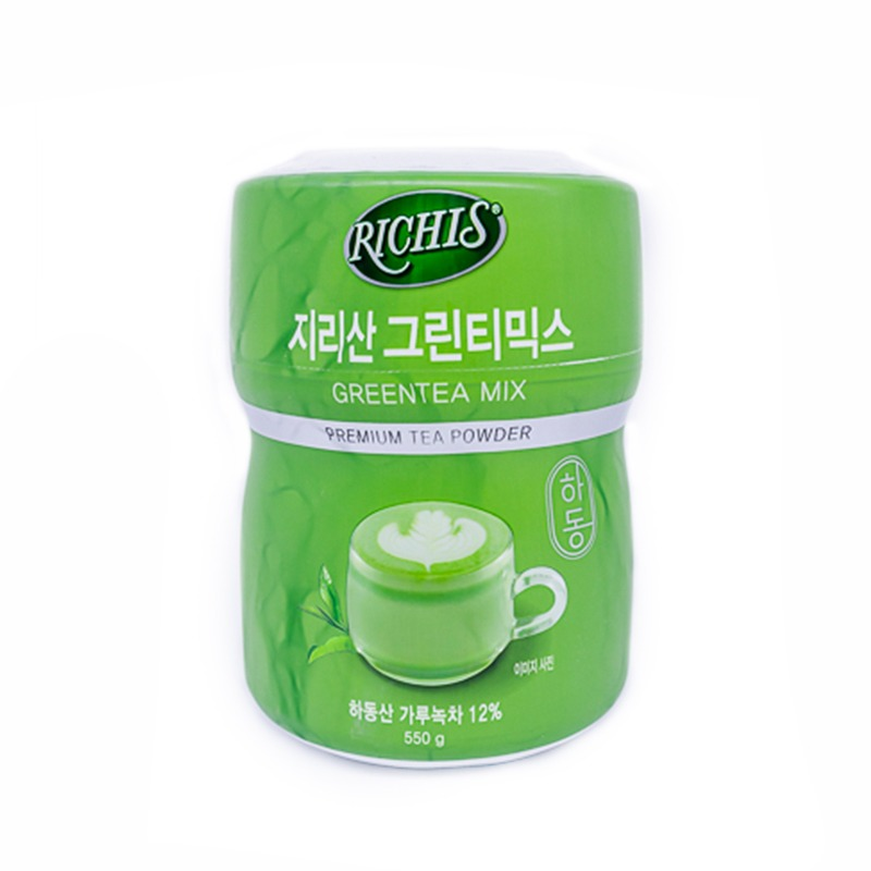 RICHIS-GREEN TEA MIX POWDER