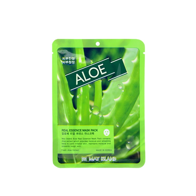 MAY ISLAND-ALOE REAL ESSENCE MASK PACK