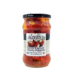 ALMITO-SWEET PIQUANT CHERRY PEPPERS