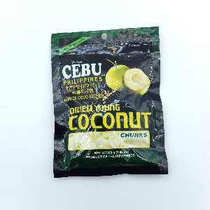CEBU-DRIED COCONUT CHUNKS 80G