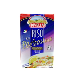 DIVELLA-RISO PARBOILED 1KG
