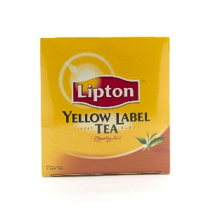 LIPTON-YELLOW LABEL TEA 1OOTB