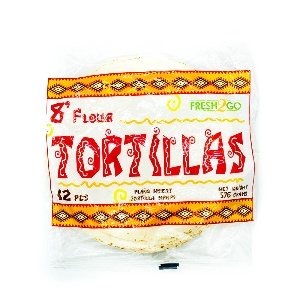 FRESH2GO-TORTILLA FROZEN 8`