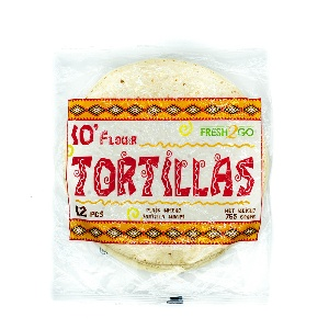 FRESH2GO-TORTILLA FROZEN 10`