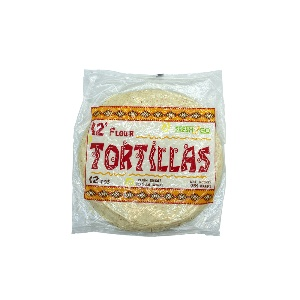 FRESH2GO-FROZEN TORTILLA 12`